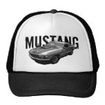 Ford Mustang monocrome Trucker Hat