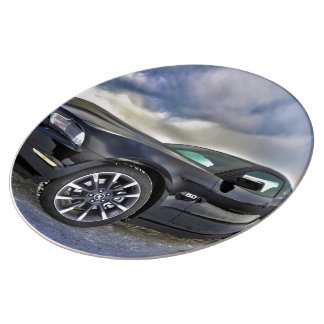 Ford Mustang Porcelain Plates