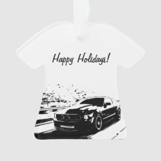 Ford Mustang Rolling shot - Personalized