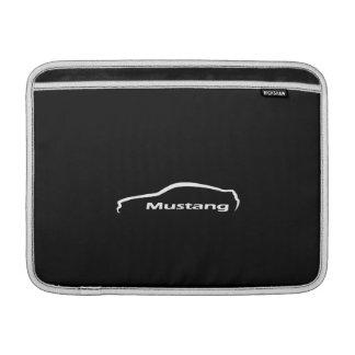 Ford Mustang Silhouette Logo Macbook Air Sleeve