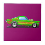 Ford Musttang Funny Car Tiles