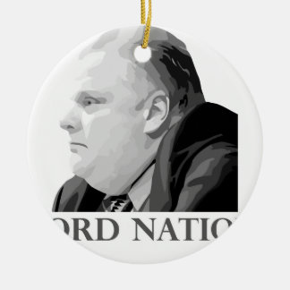 Ford Nation Ceramic Ornament
