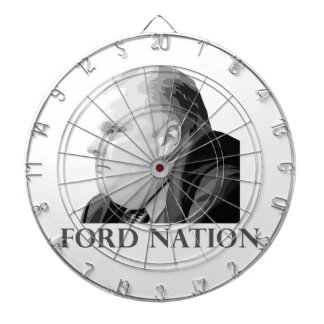 Ford Nation Dartboard With Darts