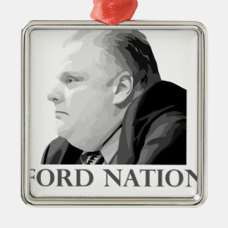Ford Nation Metal Ornament