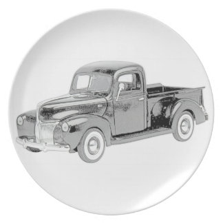 Ford Pickup1940 Party Plates