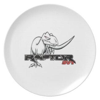 Ford Raptor Dino Plates