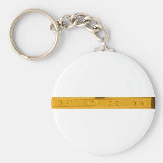 Ford Tailgate Basic Round Button Keychain