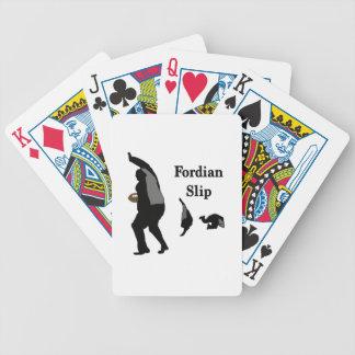 fordianslip.jpg bicycle playing cards