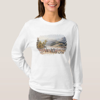 Fording of the River Mondego,engraved by C. T-Shirt
