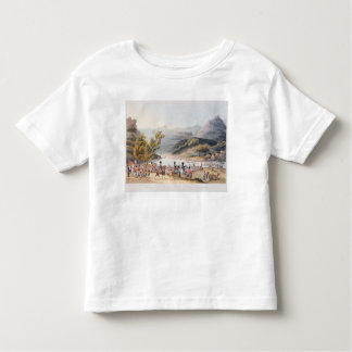 Fording of the River Mondego,engraved by C. Toddler T-shirt