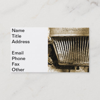 Fordson Business Card