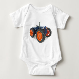 Fordson Tractor Classic Vintage Hiking Duck Baby Bodysuit