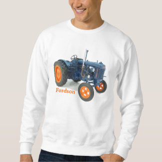 Fordson Tractor Classic Vintage Hiking Duck Sweatshirt