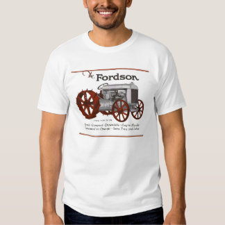 Fordson Tractor Classic Vintage Hiking Duck T Shirt