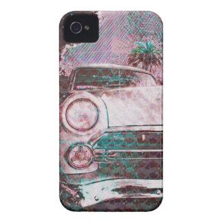 fordstradamus - coche de la escuela vieja en San F Case-Mate iPhone 4 Fundas