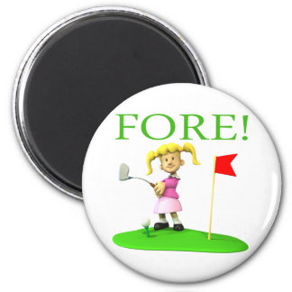 Fore 2 Inch Round Magnet