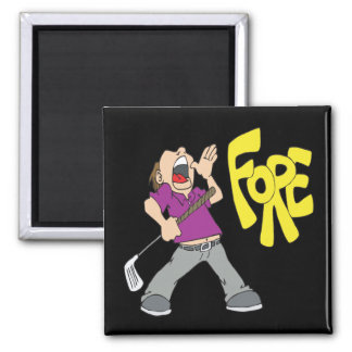 Fore 2 Inch Square Magnet