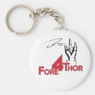 Fore 4 Thor Keychain