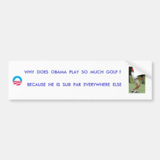 FORE !!!! BUMPER STICKERS