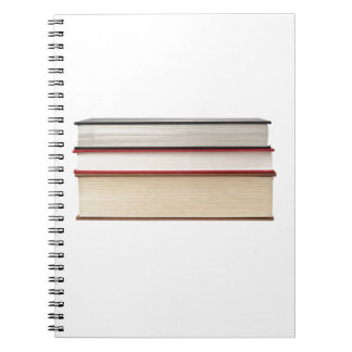 Fore edge of three books
