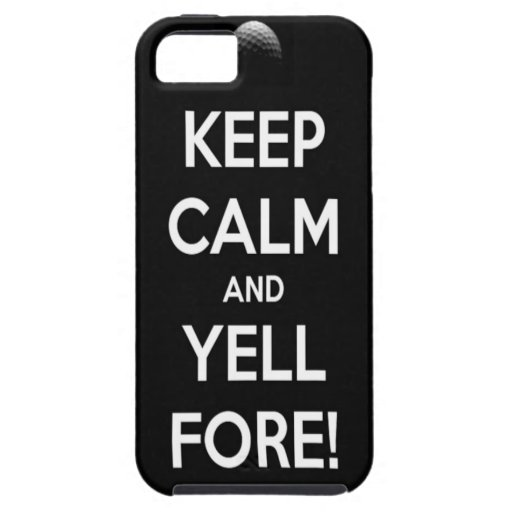 FORE!!! iPhone 5 COVER