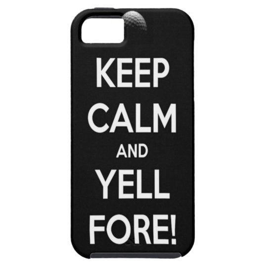 FORE!!! iPhone SE/5/5s CASE