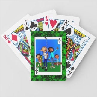 Fore of Clubs Bicycle Playing Cards