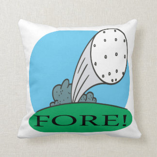 Fore Throw Pillow