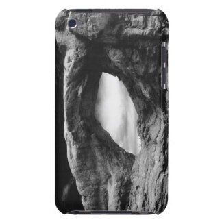 Foreboding rock formation iPod touch covers