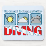 Forecast for Diving Mouse Pad