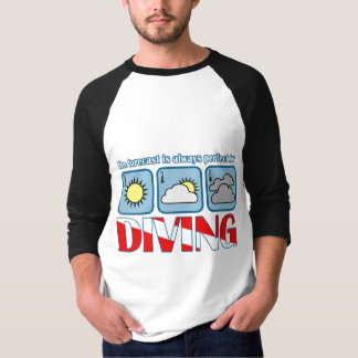 Forecast for Diving T-Shirt