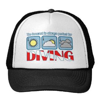 Forecast for Diving Trucker Hat