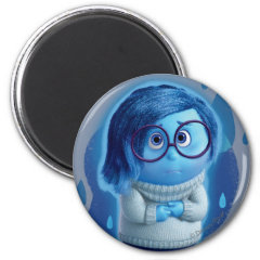 Forecast is for Blue Skies 2 Inch Round Magnet