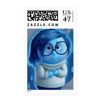 Forecast is for Blue Skies Postage Stamp