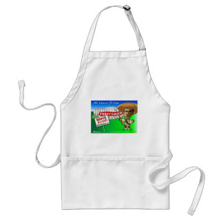 Foreclose United States White House Aprons