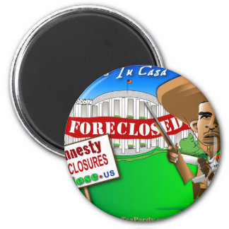 Foreclose United States White House Magnet