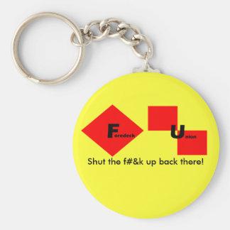 Foredeck Union Key Chain