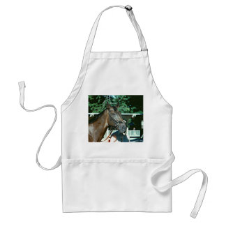 Forego Racehorse 1977 Adult Apron
