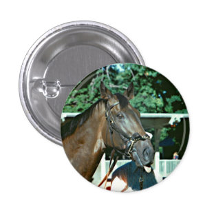 Forego Racehorse 1977 1 Inch Round Button