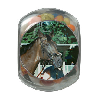 Forego Racehorse 1977 Glass Jars