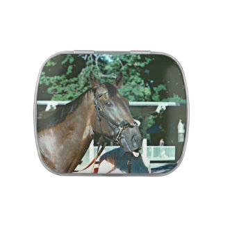 Forego Racehorse 1977 Jelly Belly Candy Tin