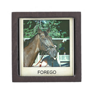 Forego Racehorse 1977 Jewelry Box