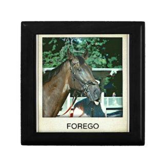 Forego Racehorse 1977 Keepsake Box