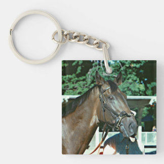 Forego Racehorse 1977 Keychain