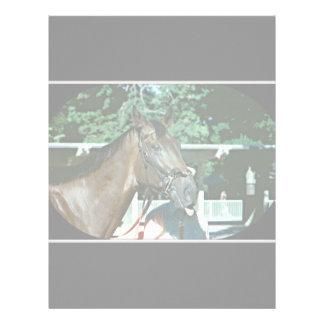 Forego Racehorse 1977 Letterhead