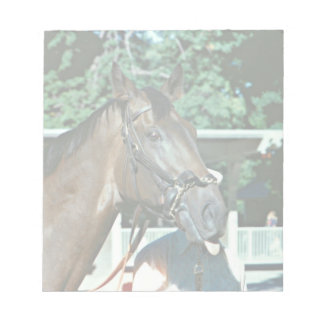 Forego Racehorse 1977 Notepad