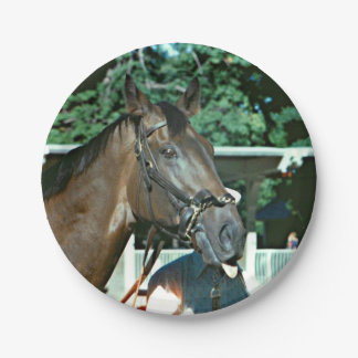 Forego Racehorse 1977 Paper Plate