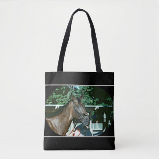 Forego Racehorse 1977 Tote Bag