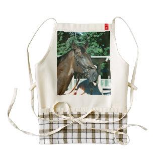 Forego Racehorse 1977 Zazzle HEART Apron