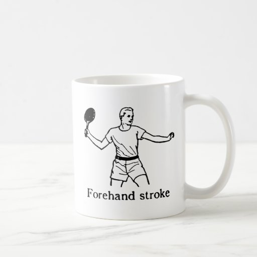 FOREHAND STROKE 2 CLASSIC WHITE COFFEE MUG